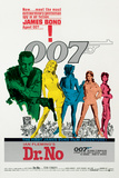 James Bond-Dr. No Kunstdrucke