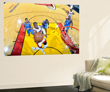 Miami, FL - June 17: Dwyane Wade Reproduction murale géante par Issac Baldizon