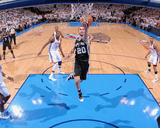 Oklahoma City, OK - June 6: Manu Ginobili Photo by Garrett W. Ellwood
