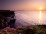 White Rocks Viewed from From Dunluce Castle on the North Antrim Coast Photographic Print by Chris Hill