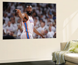Oklahoma City, OK - June 6: James Harden Wall Mural by Garrett W. Ellwood
