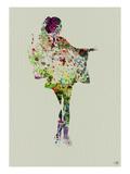 Kimono Dancer 2 Print by  NaxArt