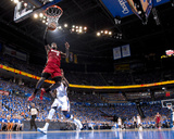 Oklahoma City, OK - June 12: LeBron James Photographic Print by Andrew Bernstein