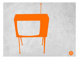 Orange Tv Prints by  NaxArt