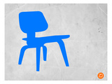 Eames Blue Chair Print by  NaxArt