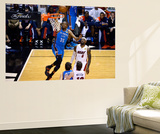 Ronald Martinez - Miami, FL - June 17: Kevin Durant and LeBron James - Reprodüksiyon