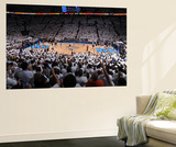 Oklahoma City, OK - June 6: Genral view of the game between the San Antonio Spurs and the Oklahoma  Wall Mural by Garrett W. Ellwood