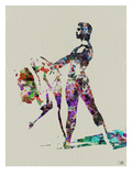 Ballet Watercolor 1 Prints by  NaxArt