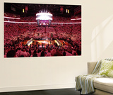 Miami, FL - June 17: General view of the arena before Game Three of the 2012 NBA Finals Reproduction murale géante par Joe Murphy