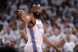 Oklahoma City, OK - June 6: James Harden Photographic Print by Garrett W. Ellwood