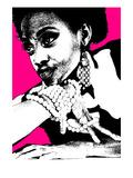 Aisha Pink Poster by  NaxArt