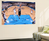 Oklahoma City, OK - June 6: Manu Ginobili Wall Mural by Garrett W. Ellwood