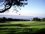 The Royal Belfast Golf Club on the Shores of Belfast Lough Photographic Print by Chris Hill