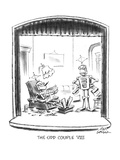 The Odd Couple VIII - New Yorker Cartoon Premium Giclee Print by Ed Fisher