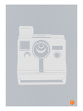 White Polaroid Camera Prints by  NaxArt