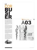 Le Corbusier Poster Poster von  NaxArt