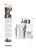 NaxArt - Le Corbusier Poster - Poster