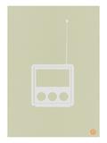 Wooden Radio Prints by  NaxArt