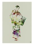 Kimono Dancer 3 Prints by  NaxArt