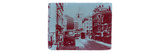 London Fleet Street Print by  NaxArt