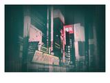 Tokyo Lights Prints by  NaxArt