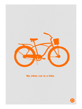 My Other Car Is A Bike Print by  NaxArt