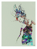 Dancer Watercolor 2 Prints by  NaxArt