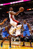 Miami, FL - June 17: Dwyane Wade and Kevin Durant Photographic Print by Mike Ehrmann