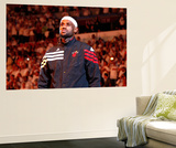 Miami, FL - June 17: LeBron James Reproduction murale géante par Mike Ehrmann