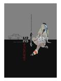 U2  Poster Kunstdrucke von  NaxArt