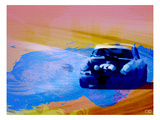 911 On The Racetrack Kunstdruck von  NaxArt