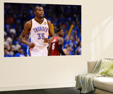 Oklahoma City, OK - June 12: Kevin Durant and LeBron James Reproduction murale géante par Ronald Martinez