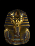 The Funerary Mask of King Tutankhamun Fotografisk tryk af Kenneth Garrett