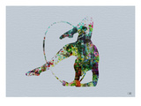 Dancer Watercolor 3 Posters by  NaxArt