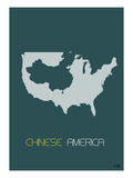 Chinese America Poster Prints by  NaxArt