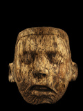 An Aztec Tiny Pine Mask Was Discovered in Offering 126 Photographic Print by Kenneth Garrett