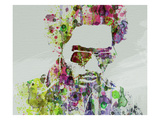 Lenny Kravitz 2 Prints by  NaxArt
