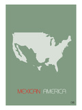 Mexican America Prints by  NaxArt