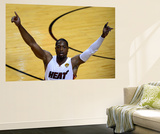 Miami, FL - June 17: Dwyane Wade Reproduction murale géante par Ronald Martinez
