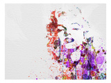 Marilyn Monroe Premium Giclée-tryk af  NaxArt