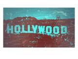 Hollywood Sign Plakater af  NaxArt