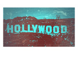 Hollywood Sign Prints by  NaxArt