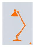Orange Lamp Pósters por  NaxArt