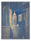 Manhattan 1 Prints by  NaxArt