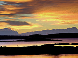 Maine Coast at Sunrise Photographic Print by Robbie George