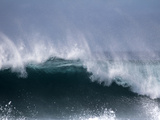 Waves and Spray Off Santa Maria, Island Sal, Cape Verde, Atlantic Ocean, Africa Photographic Print by Hans-Peter Merten