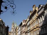 Church of St. Nicholas, Lesser Town, Prague, Czech Republic, Europe Photographic Print by Hans-Peter Merten