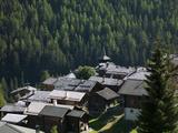 The Walser Village of Grimentz, Valais, Swiss Alps, Switzerland, Europe Photographic Print by Angelo Cavalli