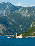 Gospa Od Skrpjela (Our Lady of the Rock) Island, Bay of Kotor, UNESCO World Heritage Site, Monteneg Photographic Print by Emanuele Ciccomartino