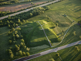 Monks Mound Is the Centerpiece of Cahokia Mounds State Historic Site Photographic Print by Ira Block